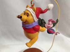 Pooh Chooses the Tree Winnie the Pooh and Piglet Hallmark Keepsake Ornament