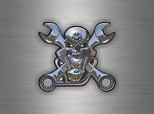 Sticker car motorcycle helmet decal chopper biker skull motorcycles tuning jdm