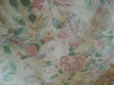 Collier Campbell PEONY FLOWER Curtain Fabric Per Metre Pastel Floral Butterflies