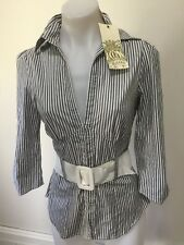 SZ 8 XS GUESS SHIRT TOP NWT $99  *BUY FIVE OR MORE ITEMS GET FREE POST