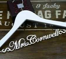 Personalized Wedding Gift Custom Bridal Bridesmaid Name Wedding Dress Hanger