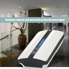Wireless Doorbell Waterproof 4Level Volume with LED Lights Blinking Effect White