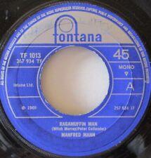 """MANFRED MANN - Ragamuffin Man - 7"""" Single"""