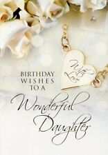 Birthday Wishes To A Wonderful Daughter - Birthday Greeting Card - 01457-1