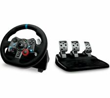 Logitech G29 Driving Force Racing Wheel Floor Pedals PS4/PC New