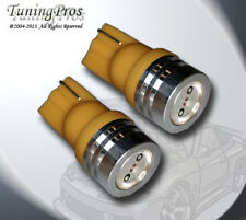 Front Side Marker T10 Wedge High Power Amber LED Bulb (Set of 2, 1 Pair) 2827