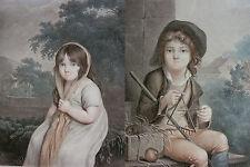 N. SCHENKER ´BRUDER UND SCHWESTER; BROTHER AND SISTER` FANCHON, F. SCHALL, ~1802