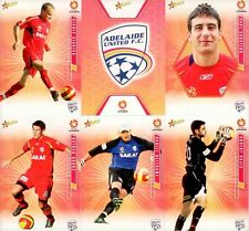 2007 Select A-LEAGUE Soccer - ADELAIDE UNITED Team Set of 16 cards