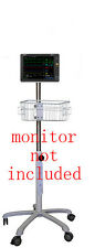 Rolling Roll  stand for Mindray uMec Patient monitor (small wheel )