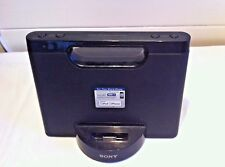 Sony RDP-M5iP Compact dock speaker for iPod/iPhone in Black - Main Unit Only