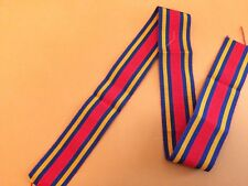"Replacement Medal Ribbon WW2  Burma Star  6"" Length"