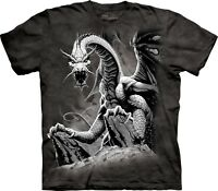 Black Dragon Dragons T Shirt Child Unisex The Mountain