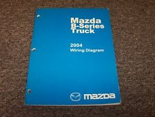 2004 Mazda B4000 B3000 B2300 B-Series Truck Electrical Wiring Diagram Manual