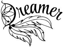 Dream Catcher Dreamer Wall Art Decal / Sticker