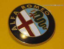 ALFA ROMEO ORIGINAL GRILLE BOOT BADGE EMBLEM GTV 6 33 75 90 155 156 164 75 mm