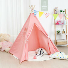 Indoor Outdoor Indian Playhouse Toy Teepee Play Tent for Kids Happy Secret Land