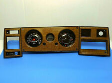 73-77 Chevy / GMC Van instrument cluster G 10 20 30 dash gauges + sim wood bezel
