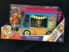 MY LITTLE PONY EQUESTRIAN GIRLS SUNSET SHIMMER ROLLIN SUSHI TRUCK