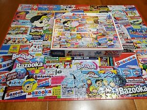 Jigsaw Puzzle White Mountain 1000 PC Bazooka by Charles Girard 2016 Complete!!!