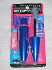 Maybelline Volum Express The ROCKET Waterproof Mascara 412 BROWNISH BLACK