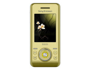 "Sony Ericsson S500i S500c S500 Camera Bluetooth 2G GSM 850 / 900 / 1800 /1900 2"""