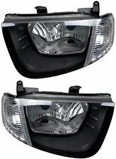 Pair Headlights Mitsubishi Triton 07/06-07/09 New ML/MN GL GLX 07 08 Lamps Clear