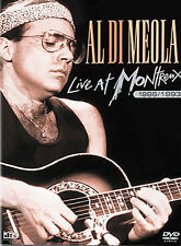Al Di Meola Live at Montreux 1986/1993 (DVD, 2004, Eagle Rock) VERY GOOD