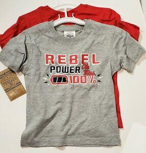 Ole Miss Rebels Toddler  Short Sleeve T-Shirt  - NWT set of 2 MISSISSIPPI