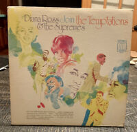 DIANA ROSS & SUPREMES Join THE TEMPTATIONS Motown MS-679 in SHRINK LP... L581