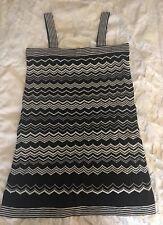 Superbe Femme Noir/Crème MISSONI for Target robe entièrement neuf sans étiquette taille M