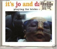 (E450) It's Jo & Danny, Playing for Kicks EP - used CD