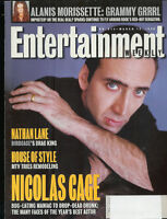 NICOLAS CAGE Alanis Morissette NATHAN LANE Amber Valletta SHALOM HARLOW 1996 EW