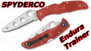Spyderco Endura 4 Trainer Training Folding Knife C10TR