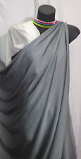 POLYESTER LIGHT WEIGHT WOVEN FABRIC : MID GREY : #5023E