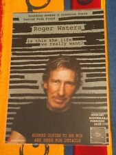 ROGER WATERS - IS THIS THE LIFE WE REALLY WANT? - Laminated Poster - PINK FLOYD