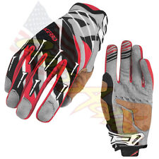 ACERBIS COPPIA GUANTI MX X2 GLOVES BLACK RED ROSSO NERO CROSS ENDURO TRIAL XXL