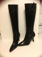 MODA BLACK BOOTS SIZE 6 KNEE HIGH NEW WITHOUT BOX