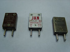 FT-243 CRYSTALS 40 METRES VINTAGE HAM RADIO TRANSMITTERS, PARASET?  YOU CHOOSE!
