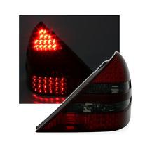 2 FEUX ARRIERE LED MERCEDES SLK R170 DE 04/96 A 04/04 ROUGE ET NOIR TRANSLUCIDE
