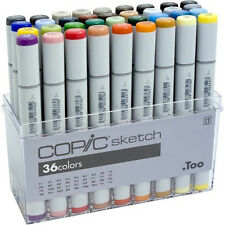 copic sketch marker set - 36 stifte