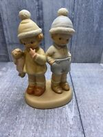 Enesco Memories of Yesterday Too Shy for Words 1994 Figurine Retired