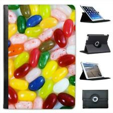 Multi Flavoured Jelly Beans Red, Green, Pink, Blue Leather Case For iPad Mini