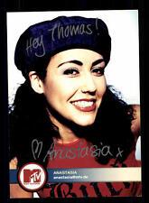 Anastasia MTV Autogrammkarte Original Signiert # BC 93520