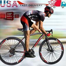 Begasso Shimanos Mountain Bike 21 Speed MTB Bicycle Full Suspension Road Bike US