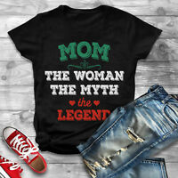 Mom Woman Myth Legend Shirt, Best Mom Shirt, Mom T-shirt, Worlds Best Mom Shirt