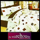 POLY COTTON COSMO BROWN 250 TC CHIC DOUBLE QUILT COVER DUVET SET+2 PILLOW CASES