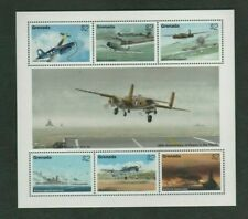 Grenada 1995 WW2 Air / Sea Combat Mint MNH Sheetlet