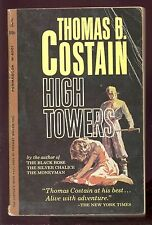 High Towers by Thomas B. Costain (Permabook,#M6001,1'st Prt. Feb.1962 -Paperback