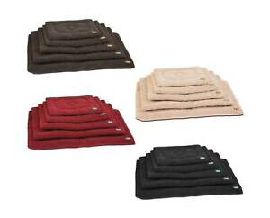 Dog Crate Mat Soft Puppy Thick Warm Fleece Mixed Colours & Sizes Sherpa Gor Pets
