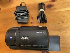 Sony Handycam FDR-AX43 UHD Camcorder - Black